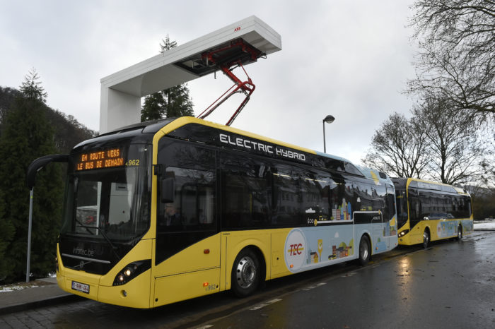 Namur: 29.000 litres of fuel saved every month thanks to hybrid buses