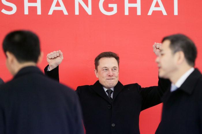 Tesla starts building Shanghai giga-factory