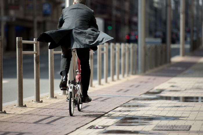 Bicycle and public transport increasingly popular for commuting