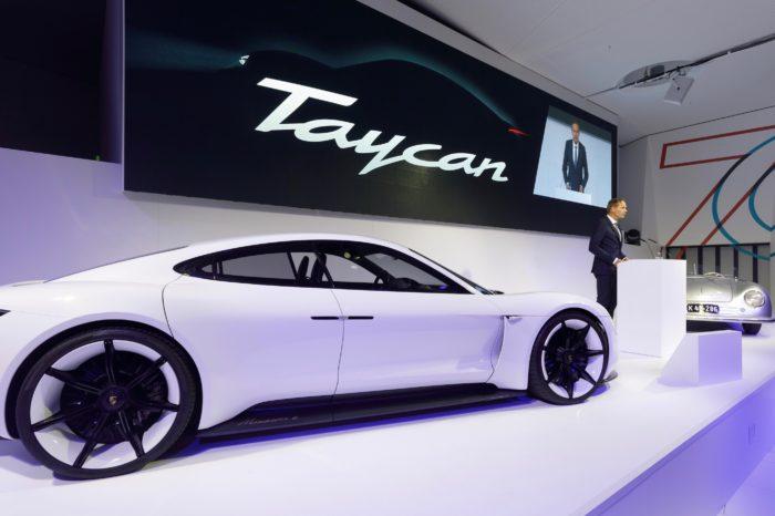 Belgium: 300 pre-orders for electric Porsche Taycan