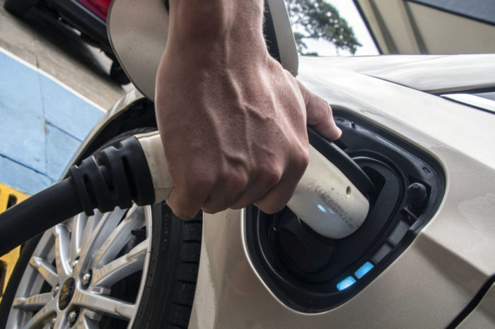 Choosing between doing the wash or charging the electric car?