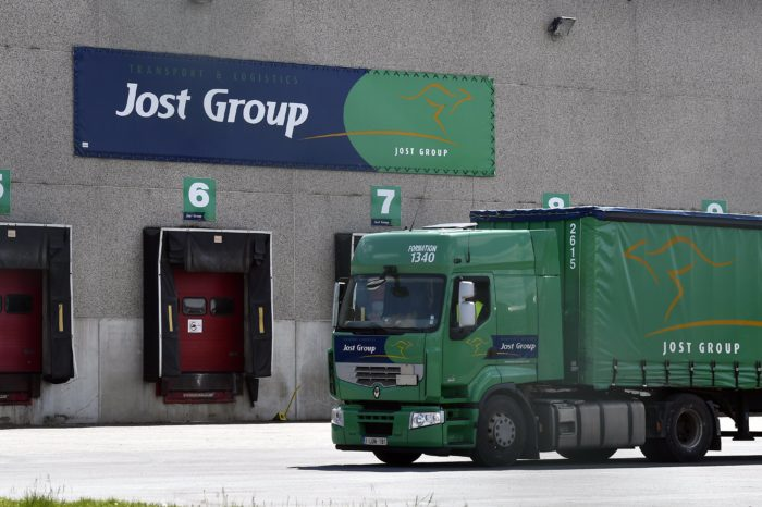 346 trucks of Jost Group seized by justice