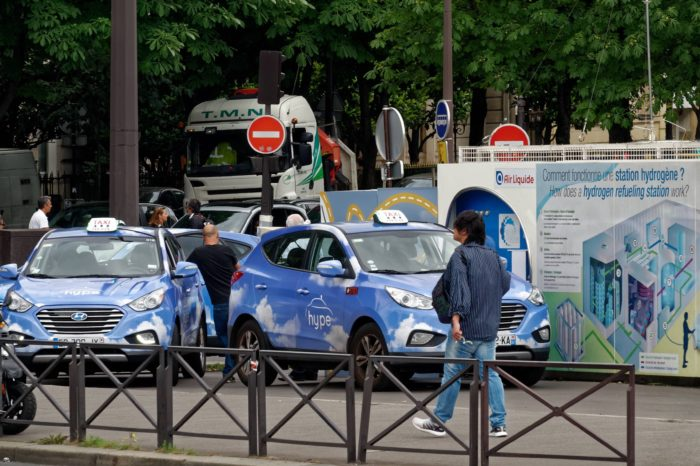 Hype to roll out fleet of 600 hydrogen taxis in Paris