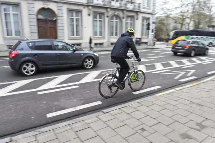 2018: number of cyclists in Brussels increased again