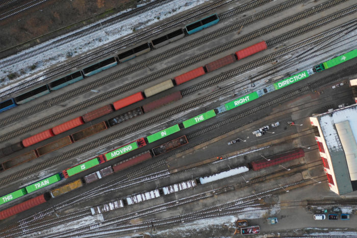 30 million a year to shift 750.000 truck rides to rail freight