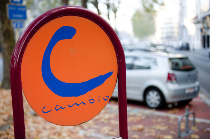 Wallonia: free parking to promote car sharing
