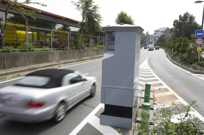 Wallonia: administrative fines for minor speeding violations