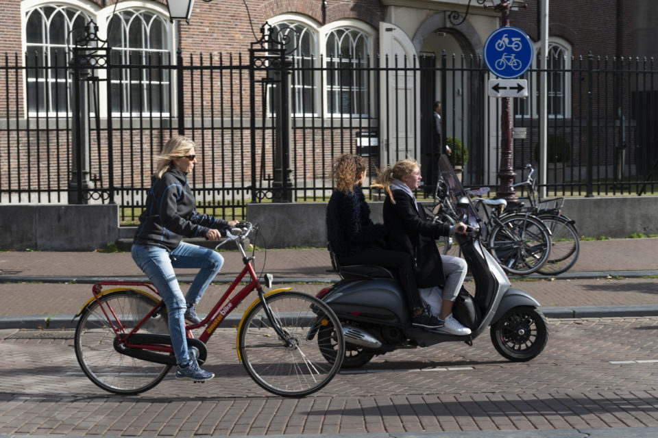 Mandatory Helmet Dutch Youngsters Massively Sell Their Mopeds