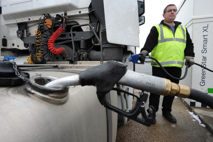Belgium massively sponsors diesel trucks from abroad