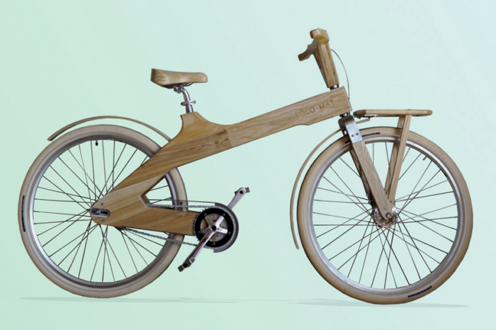 Why not opt for a wooden bike?