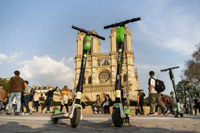 French citizens wage war on electric step scooters