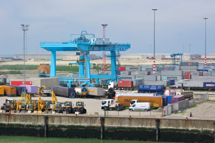 New 'Flux' app for more fluent traffic in Zeebrugge
