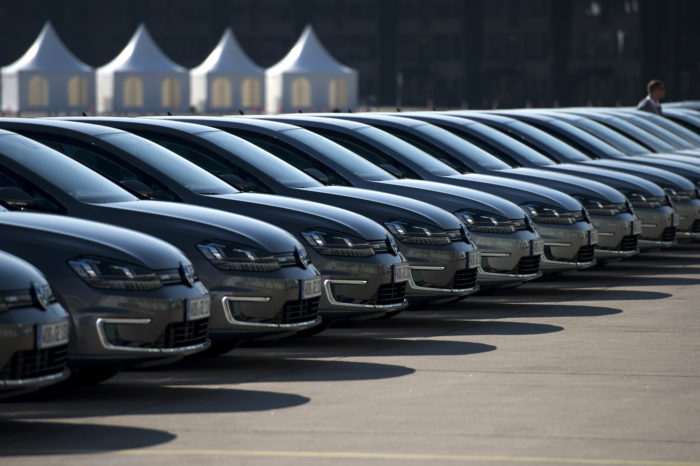 Seven percent more company cars registered in Belgium