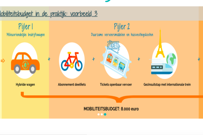 Belgian government launches website on mobility budget