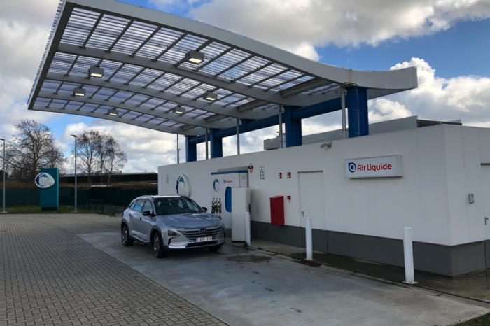 Three more hydrogen filling stations in Flanders