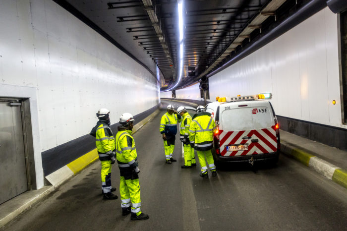 Brussels tunnels: safety inspection every six years