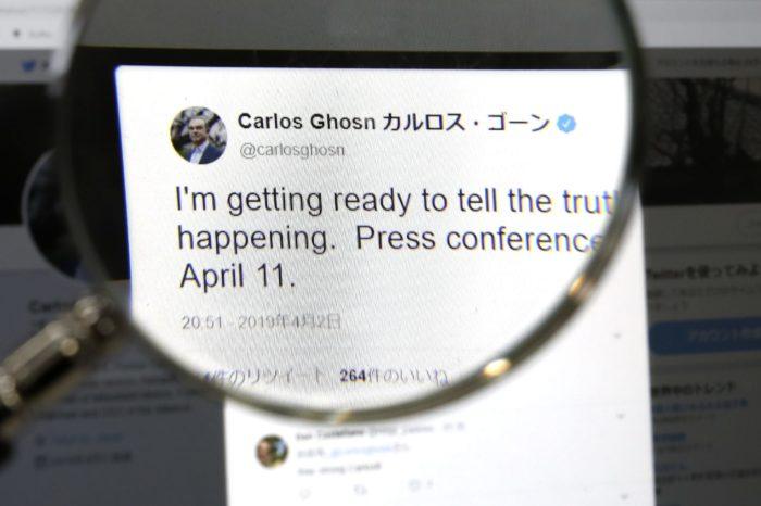 Indignant Carlos Ghosn again under arrest