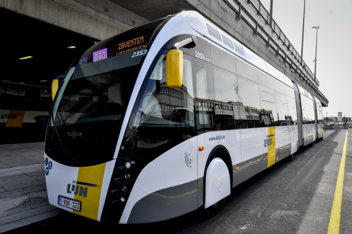 First-ever tram buses around Brussels