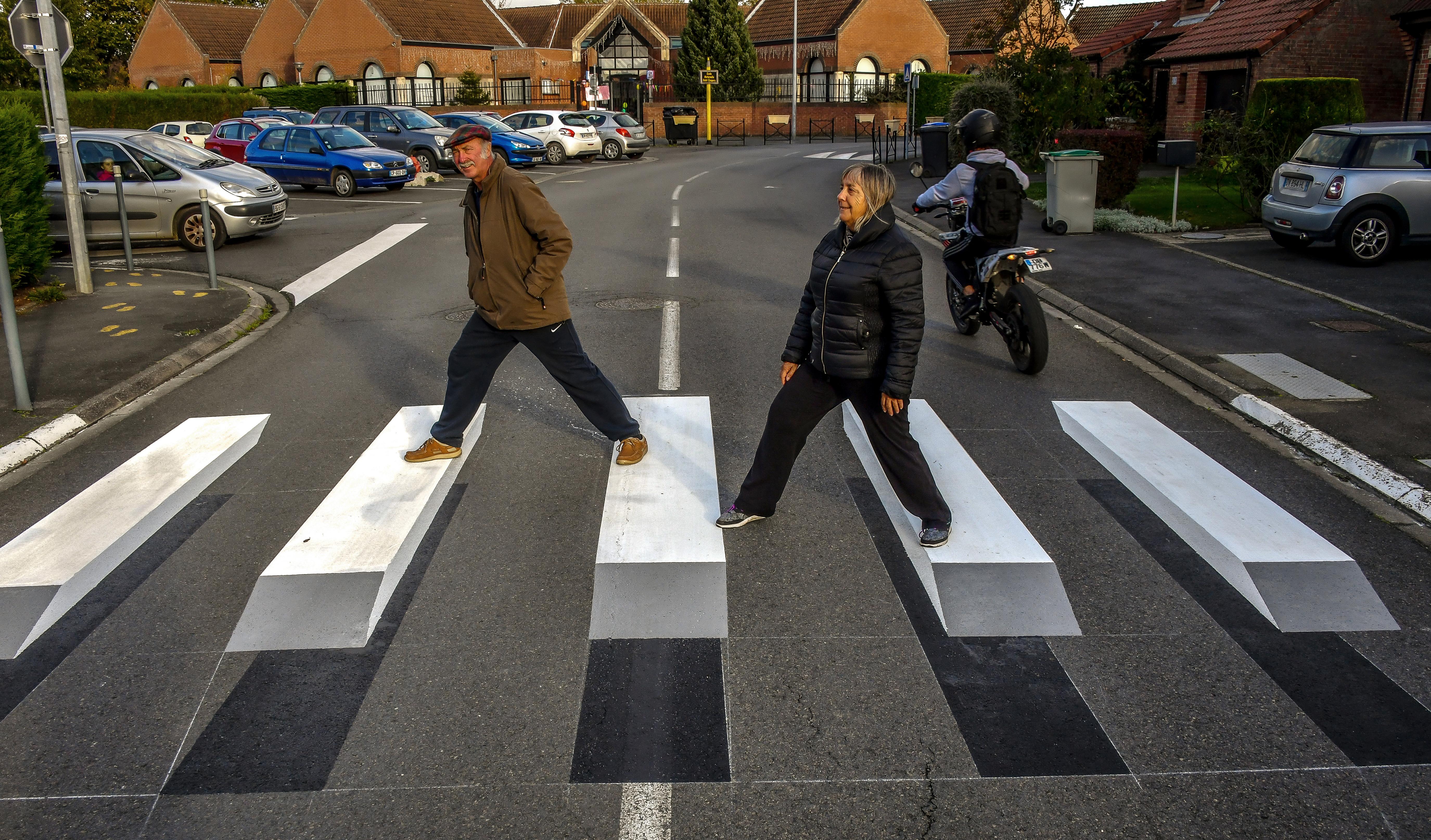Пешеходный переход прикольные картинки