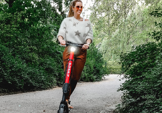 Poppy offers electric kick scooters in Antwerp