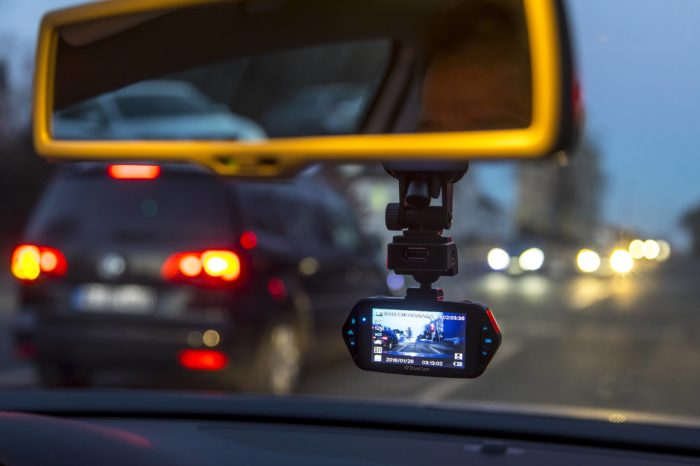 Dashcams can prevent aggression in traffic