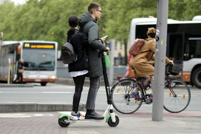 Brussels E-step scooter use analyzed