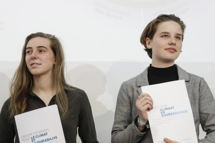 Young Belgian climate truants get their scientific plan