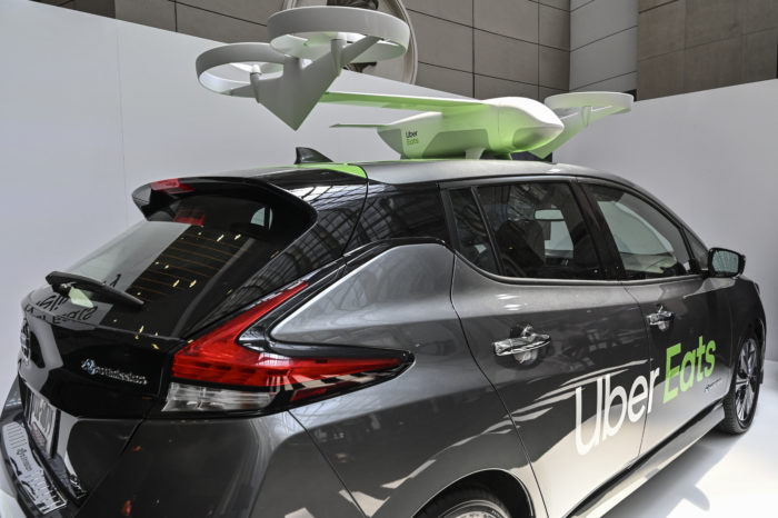 Uber to test delivery of meals by drone