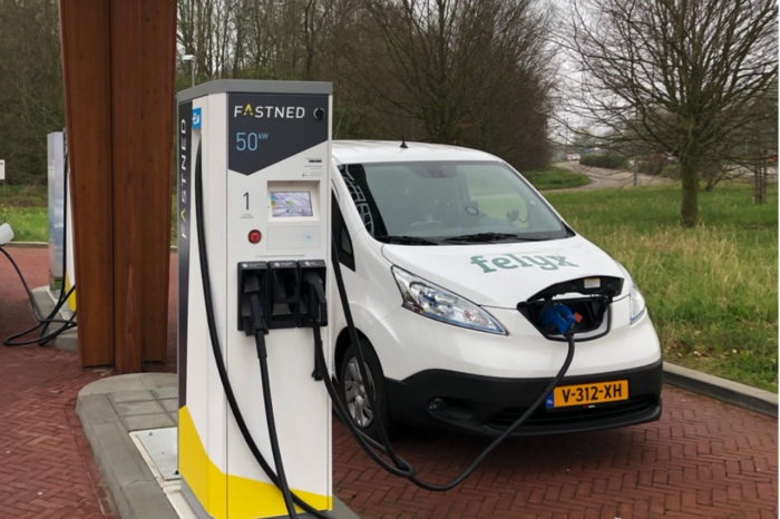 Dutch European leaders in electric car charging facilities
