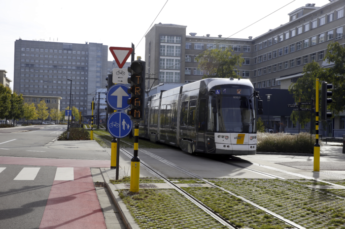 Tram gets (almost) always green thanks to GPS