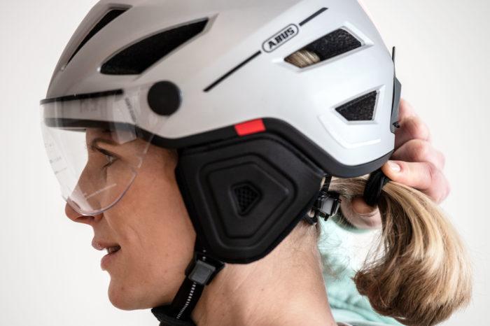 Belgian biker hates helmet