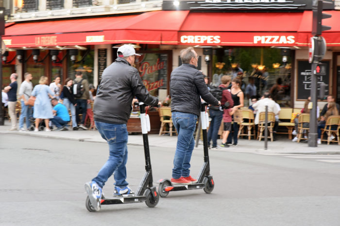 Paris takes urgent measures to stop free-floating scooter chaos