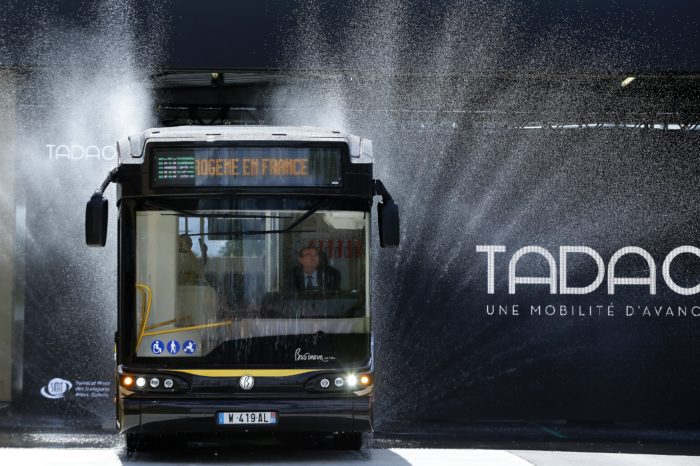 France gets its first hydrogen bus line in Pas-de-Calais