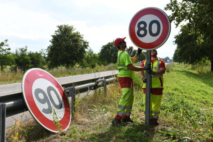 France: 80 kph speed limit saved 206 lives