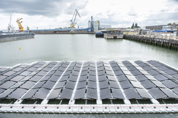 Belgian consortium to produce 'floating' solar energy at sea