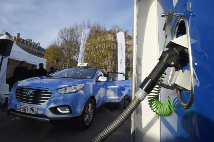 Hype wishes to convert Paris' taxis to hydrogen