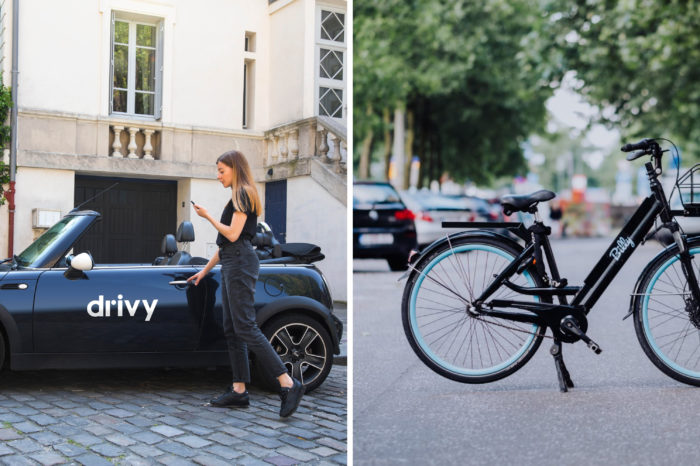 Drivy and Billy Bike get together for Brussels' mobility