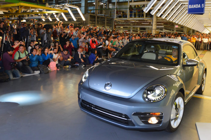 New Beetle bows out in Mexico