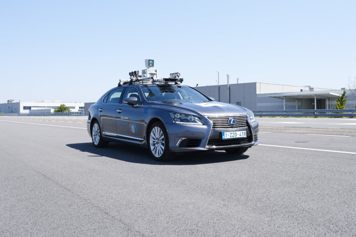 Toyota starts testing autonomous car in streets of Brussels