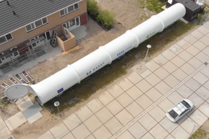 Dutch start-up Hardt shows Europe's first functional hyperloop