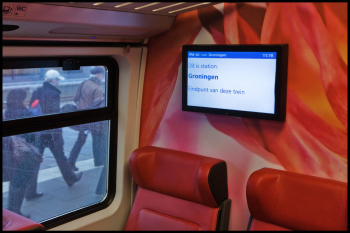 Dutch rail to experiment with ads on trains
