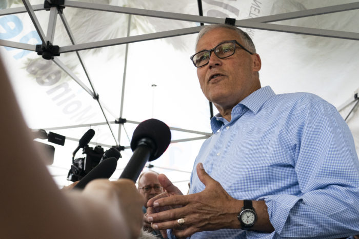 Governor Jay Inslee forces Democrats to see climate as top priority