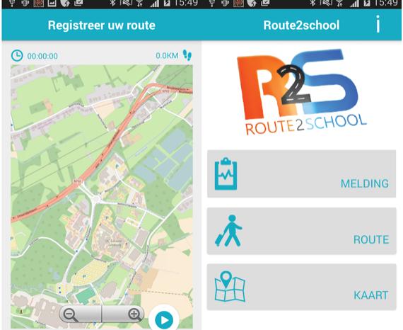 Route2School app shows safest way to school