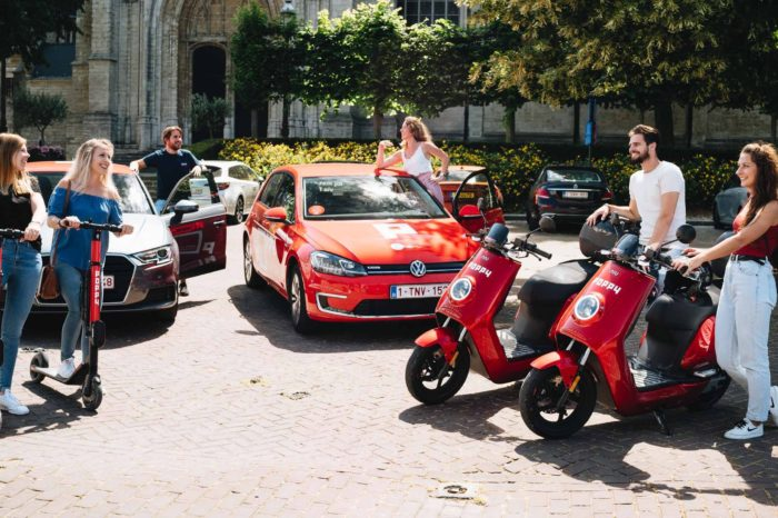 Poppy adds scooters and mopeds to Brussels' fleet