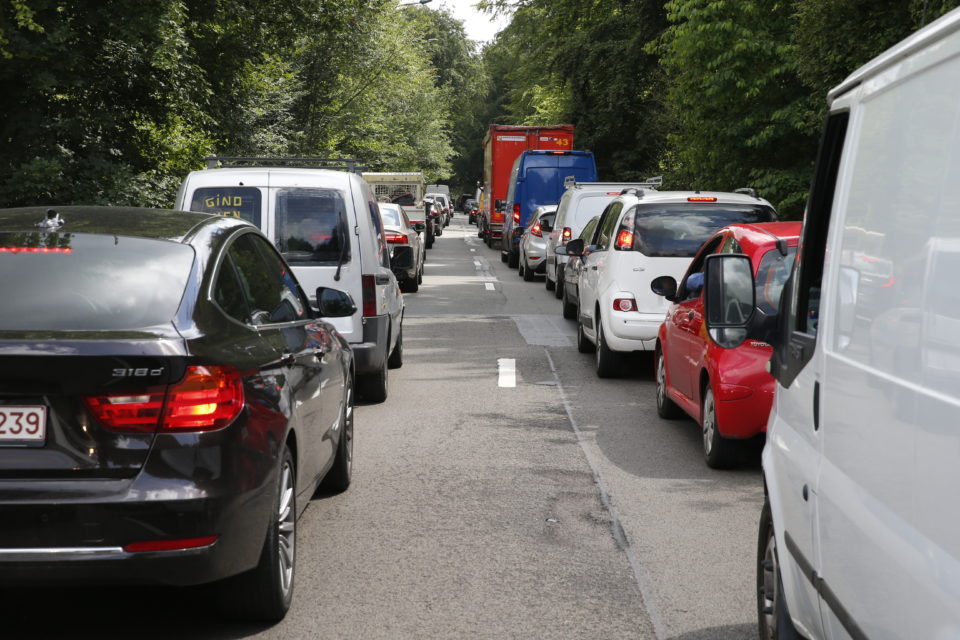 There's no smart trick to escape traffic congestion