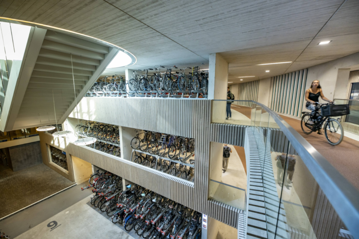 Utrecht opens largest bicycle parking facility in the world