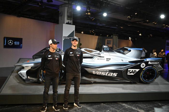 Mercedes bets on Belgian-Dutch pilot team in Formula E
