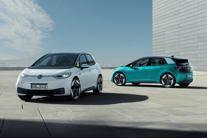 VW ID.3 sign of change of electrified Frankfurt Motor Show