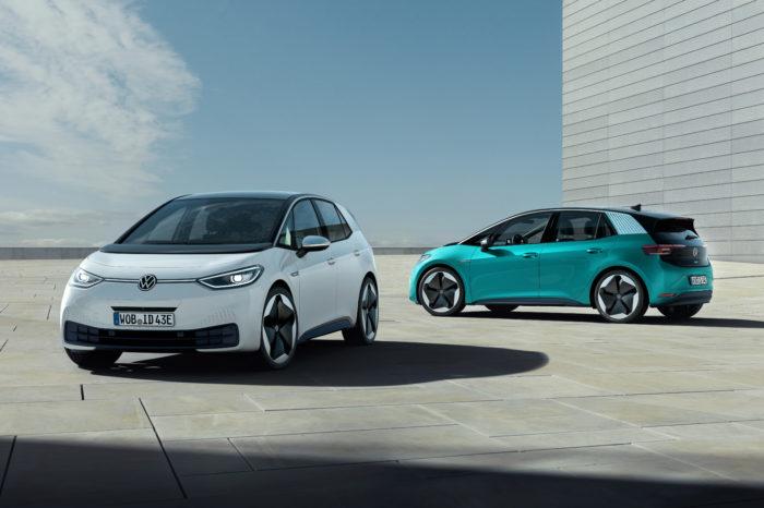 VW ID.3 sign of change of electrified Frankfurt Motor Show