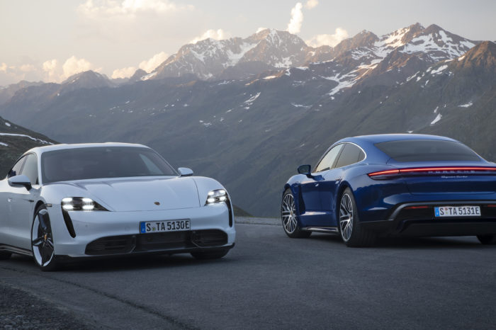 Porsche Taycan: first electric sports car ready for launch